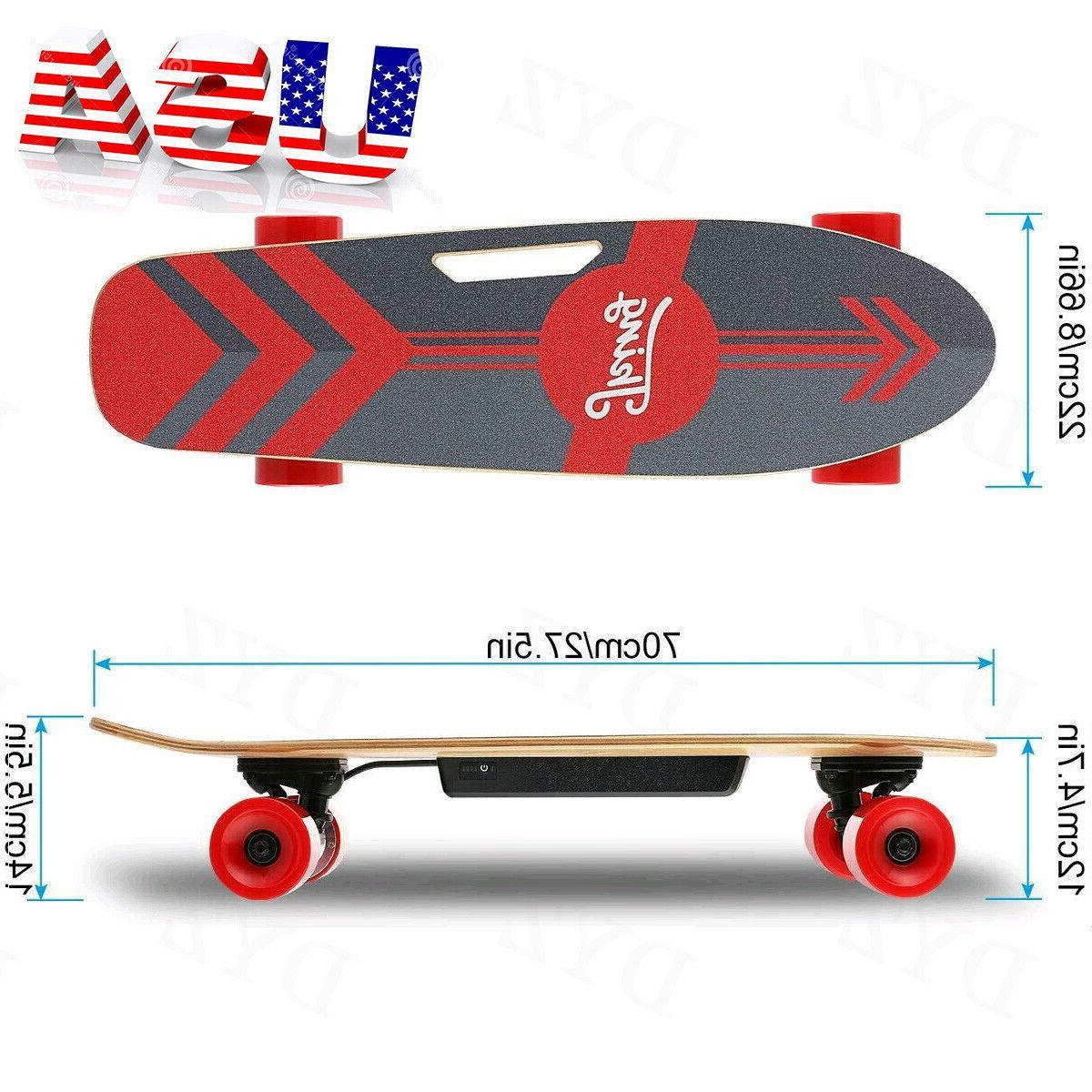 electric skateboard teens power motor smart sensors