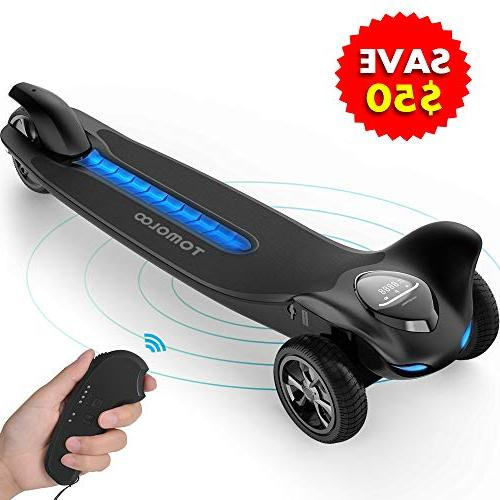 electric skateboard three wheels