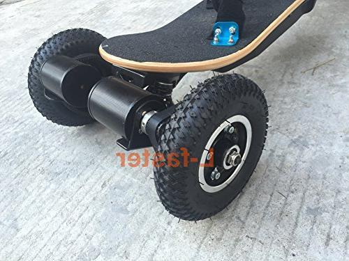 L-faster Electric Skateboard Off Road Skateboard Drive Longboard Mountains Wheel