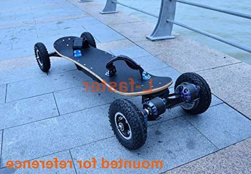 L-faster Off Road Skateboard Belt Drive Wheel Longboard Inch Wheel
