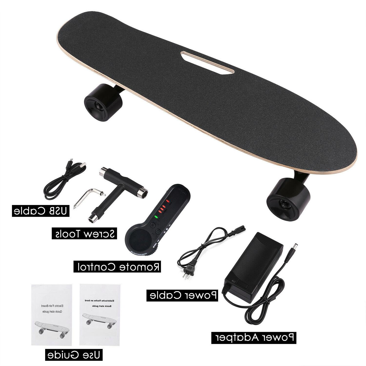 Electric Skateboard w Remote Control for Adults 7 Layers Map