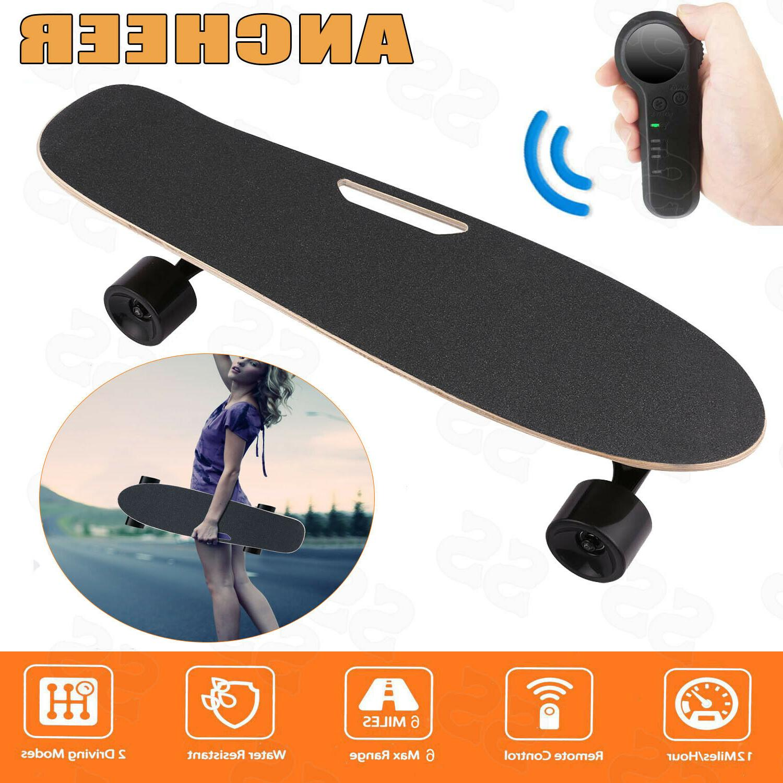 ANCHEER Electric Skateboard Wireless Remote Control  Longboa
