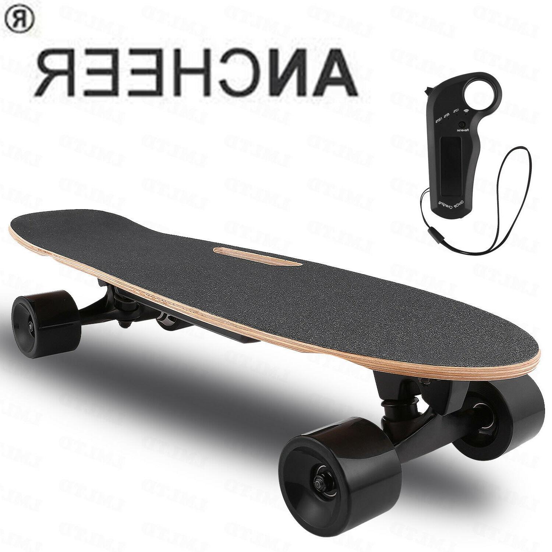 ANCHEER Electric Skateboard Wireless Remote Control 350W Mot