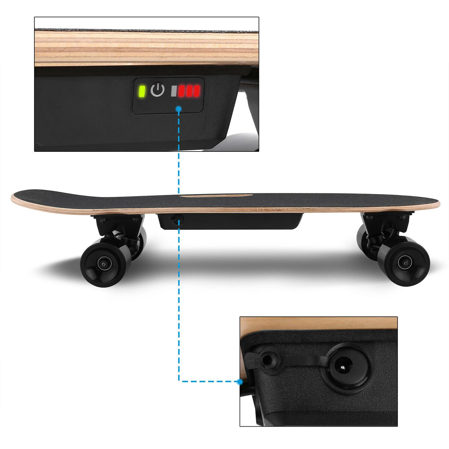 ANCHEER Electric Motor Longboard w/Remote