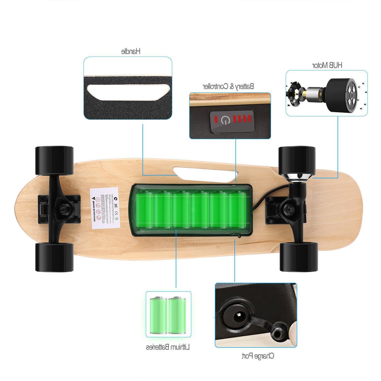 Electric Long E-Skateboard Wireless