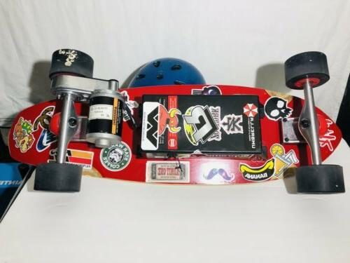 ALTERED Skateboard With Battery Controller