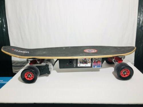 electric skateboard with battery but no charger