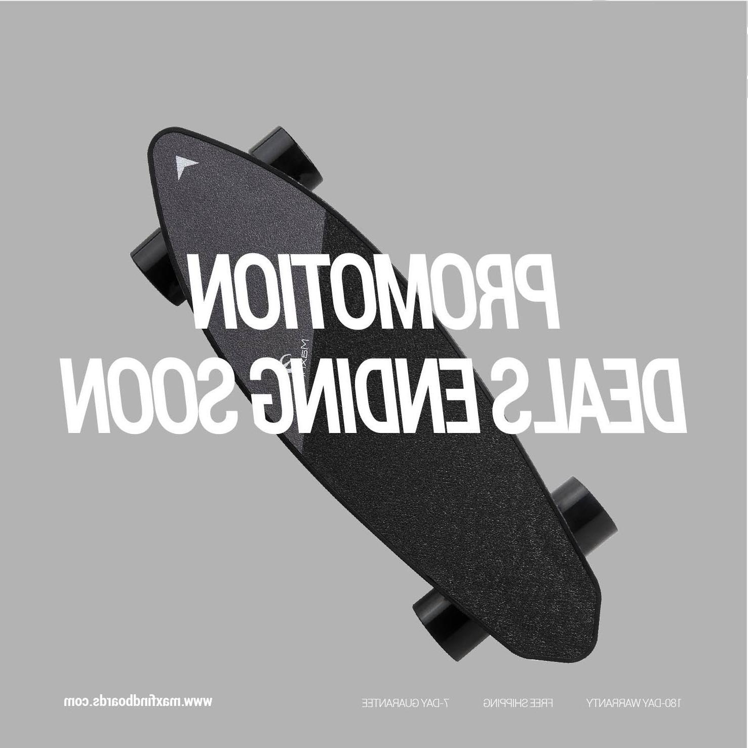 <font><b>Maxfind</b></font> Edition <font><b>Skateboard</b></font> Max 2 Longboard Top Max Range Dual