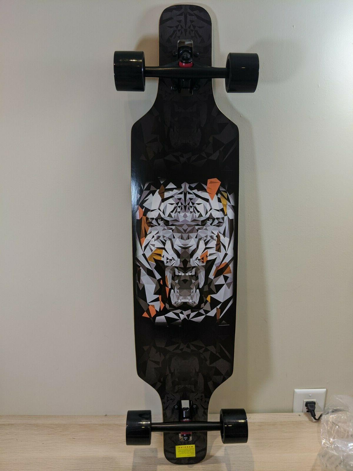 freeride freestyle drop through longboard