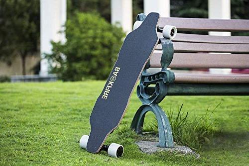 BACKFIRE G2S Skateboard- 23 Speed, 96mm Wheels