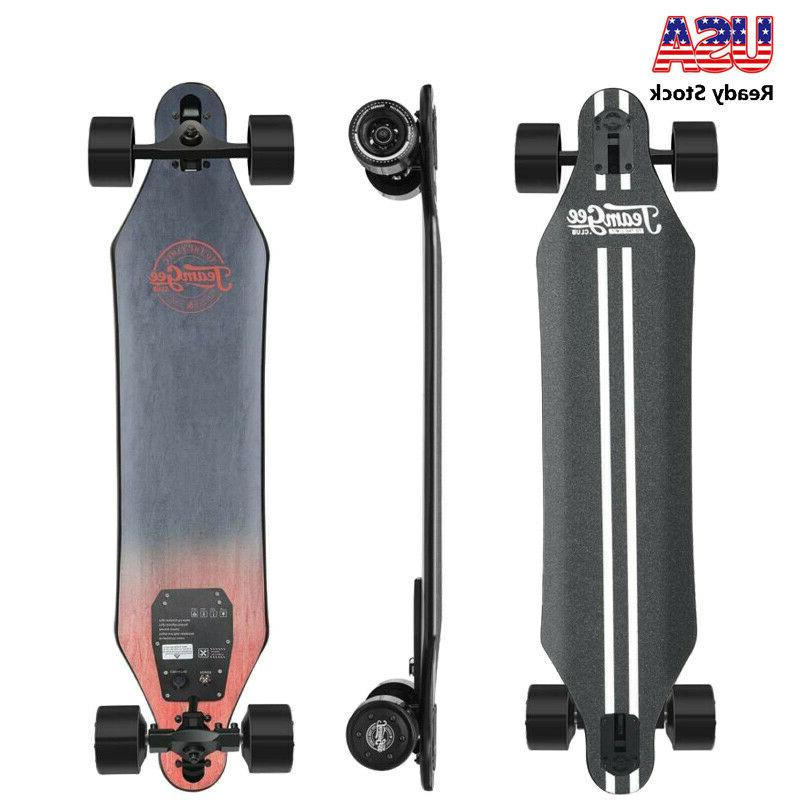 h5 37 blade electric skateboard with drop