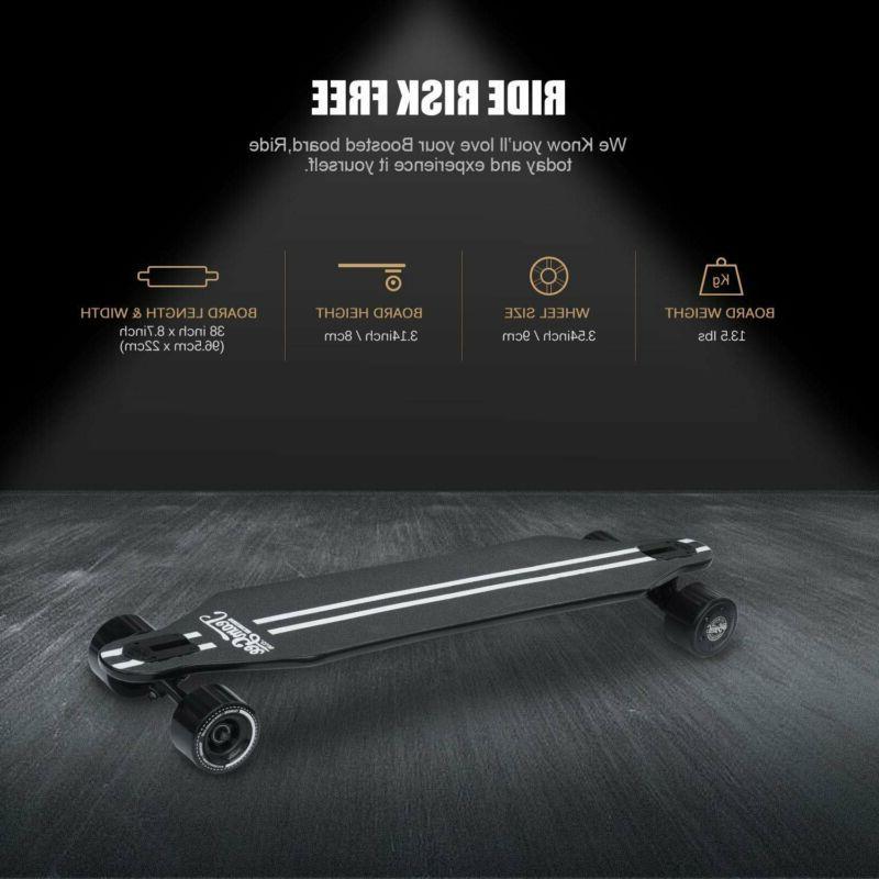 Teamgee Skateboard Dual Motor 11 Mile Longboard