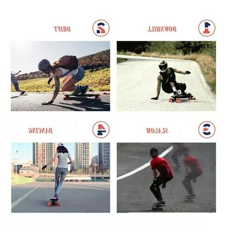 Teamgee Wheels Intelligent Skateboard 22 Mph 11Miles