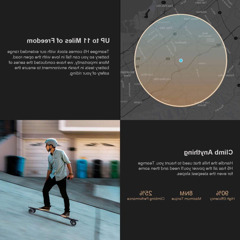 Teamgee H5 Skateboard Ride