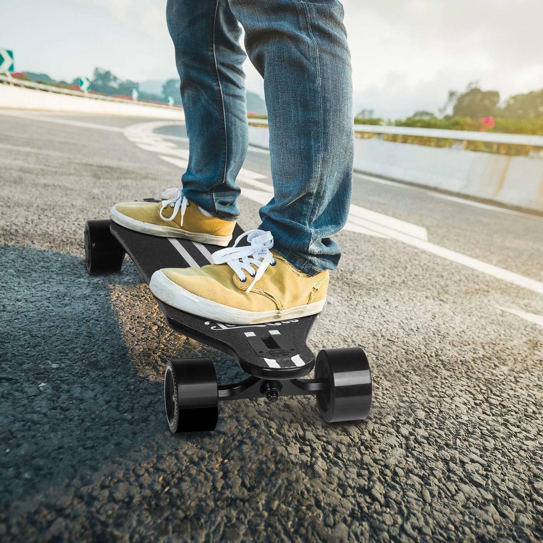 Teamgee Longboard Skateboard High-performance battery Powered Ride