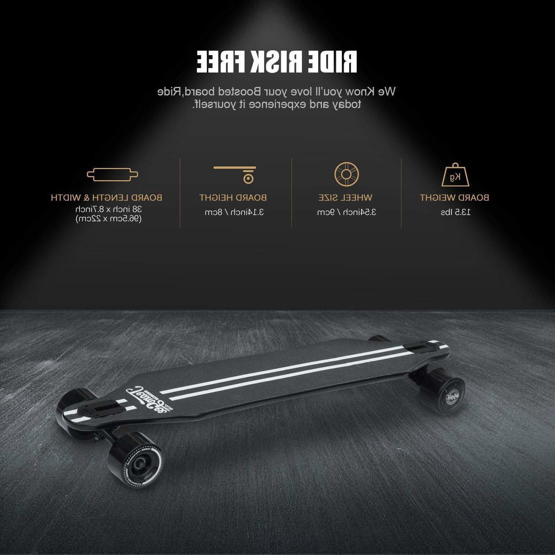 Teamgee Electric Skateboard Powered Ride