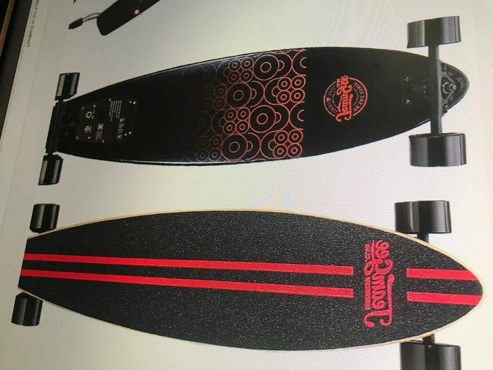 h6 37 electric skateboard longboard w remote
