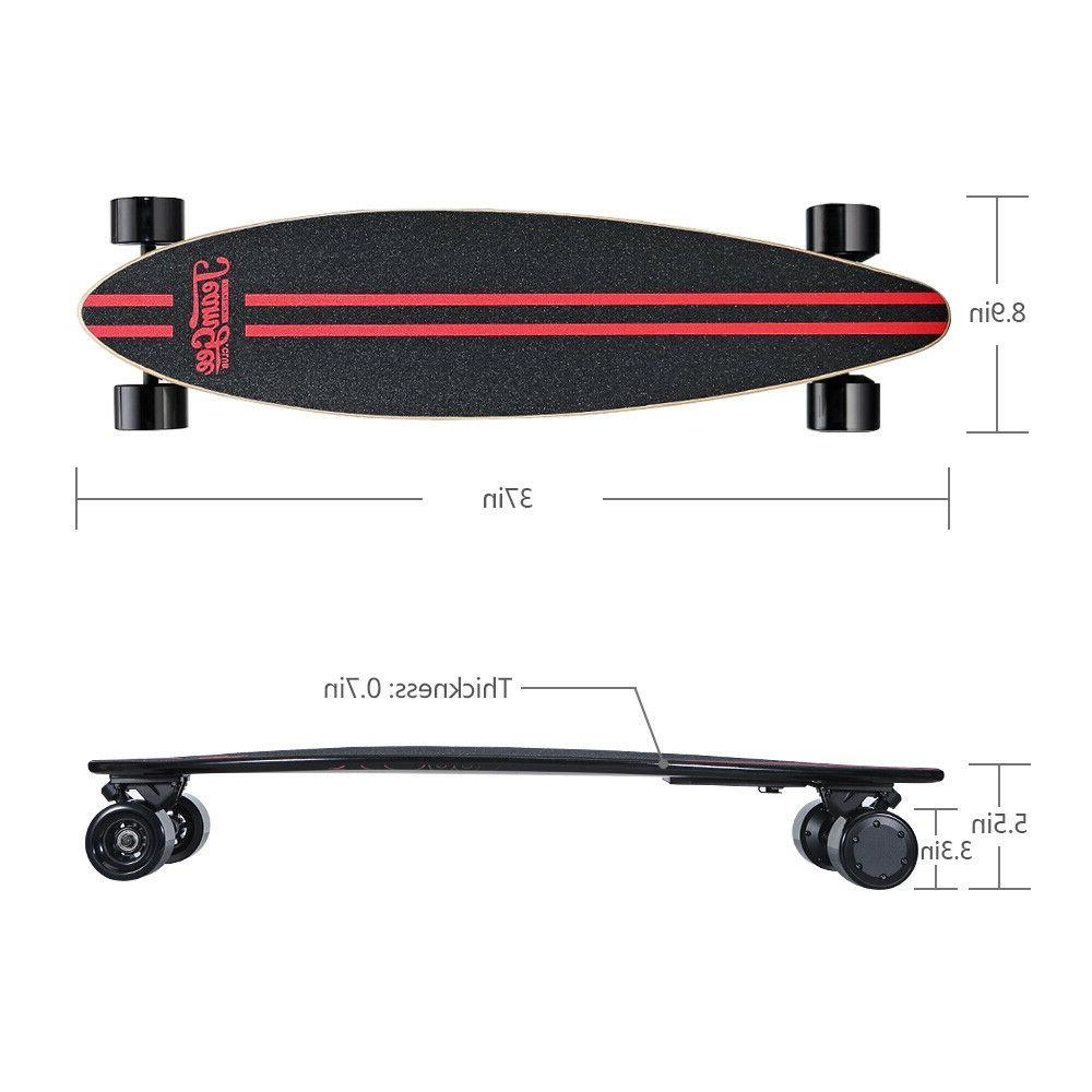 Teamgee Electric Skateboard Thinner Motor Wireless US Store