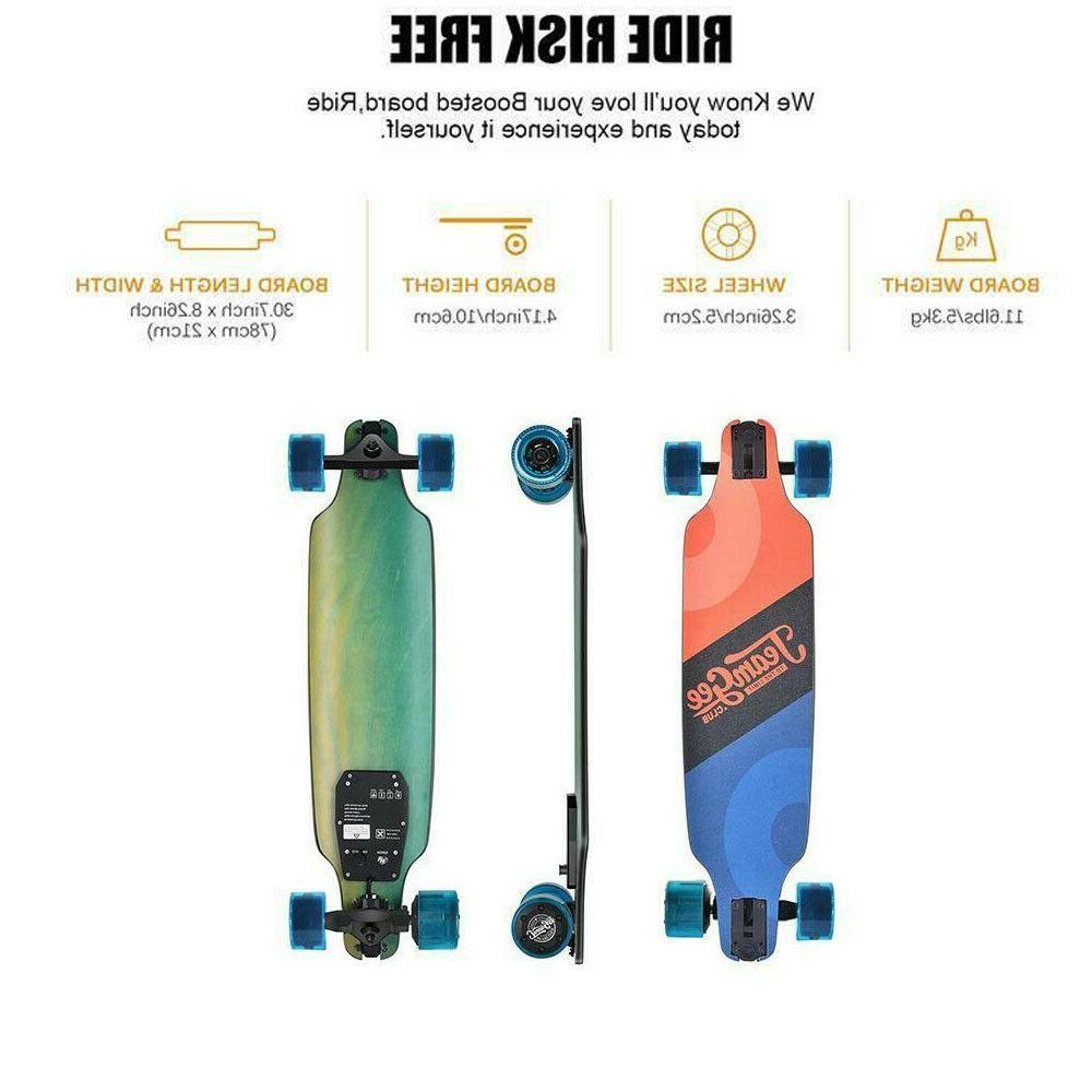 h8 31 electric skateboard w remote control