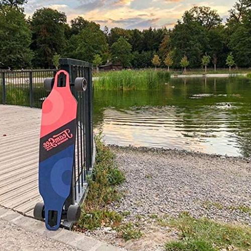 teamgee H9 Electric Skateboard,23 10 Miles Lbs, Load Lbs with Wireless Remote Control