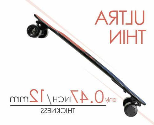 Teamgee Ultra-thin & Lightweight Electric Skateboard