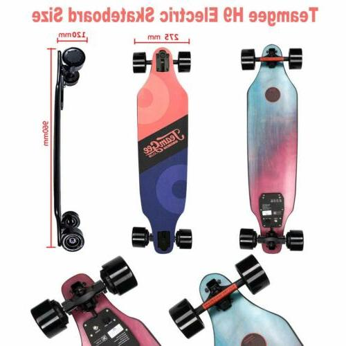 h9 ultra thin and lightweight electric skateboard