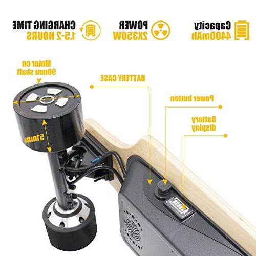 Fitnessclub Hiboy Electric Longboard Dual Motorized Electric