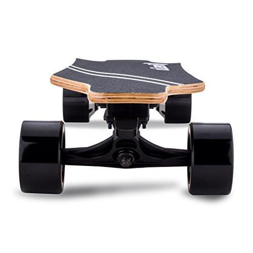Fitnessclub Hiboy Electric Longboard - Dual Skateboard Control,Max Speed to 18.5MPH