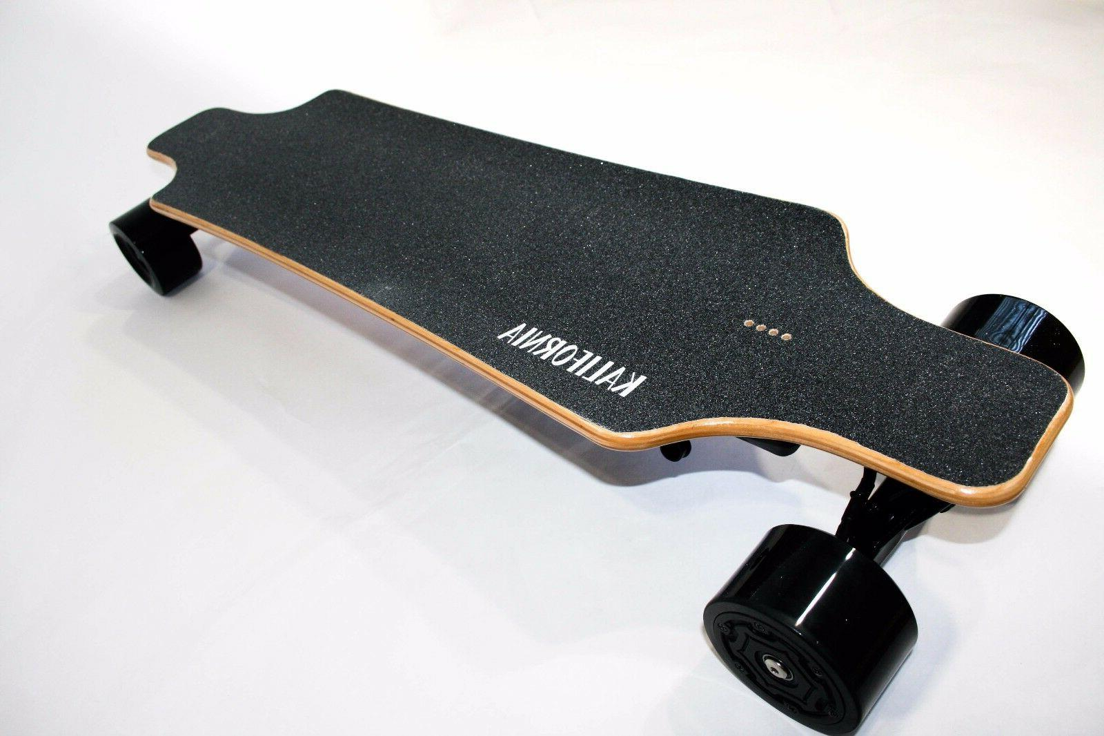 high quality electric skateboard with duel wheel