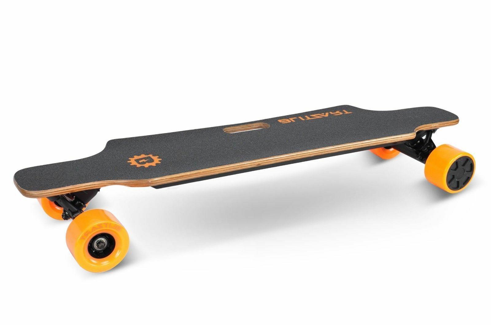 huracane 38 electric skateboard longboard 350w hub