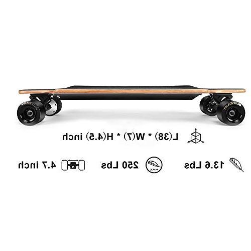 "BLITZART Huracane 38"" Skateboard Longboard Electronic"