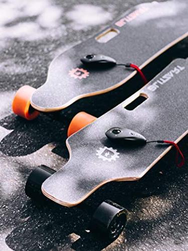 "BLITZART Skateobard Longboard E-Skateboard Electronic 3.5"""