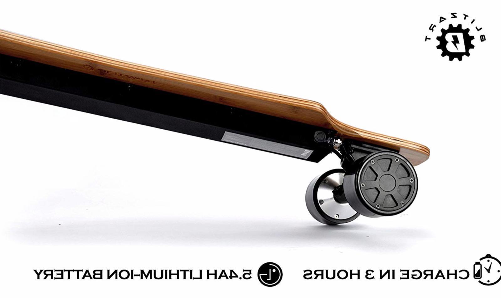 """BLITZART 38"""" Electric Skateboard Electronic 23mph"""