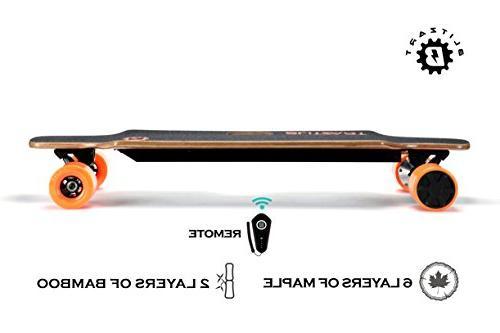 BLITZART Longboard Wheels Changeable