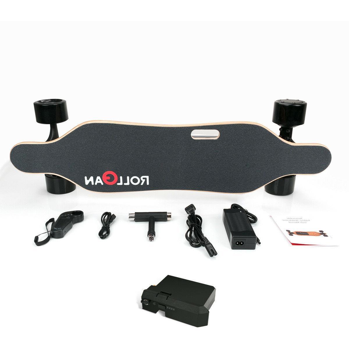 Longboard Electric Skateboard Dual Longboard