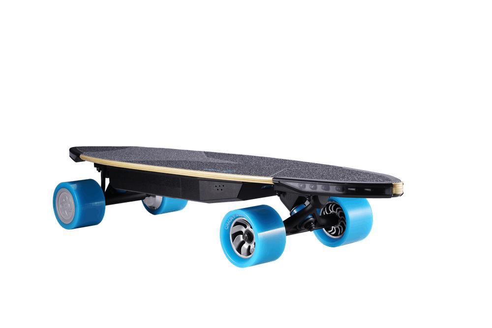 Huger Tech Travel Skateboard bluetooth Speed MPH 22Mi