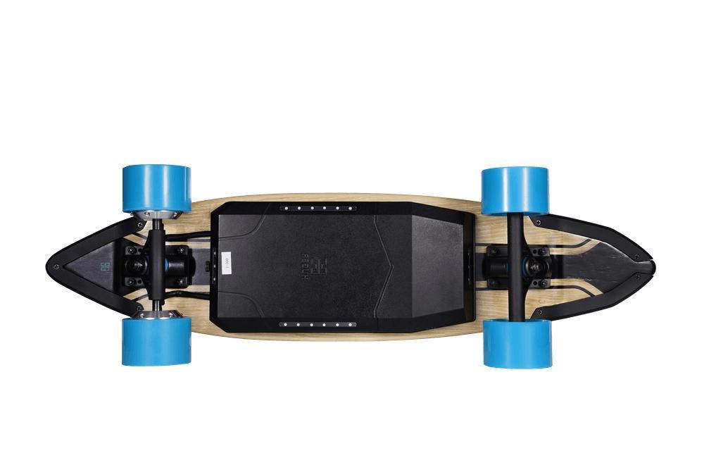 Huger Tech Skateboard bluetooth Speed MPH 22Mi