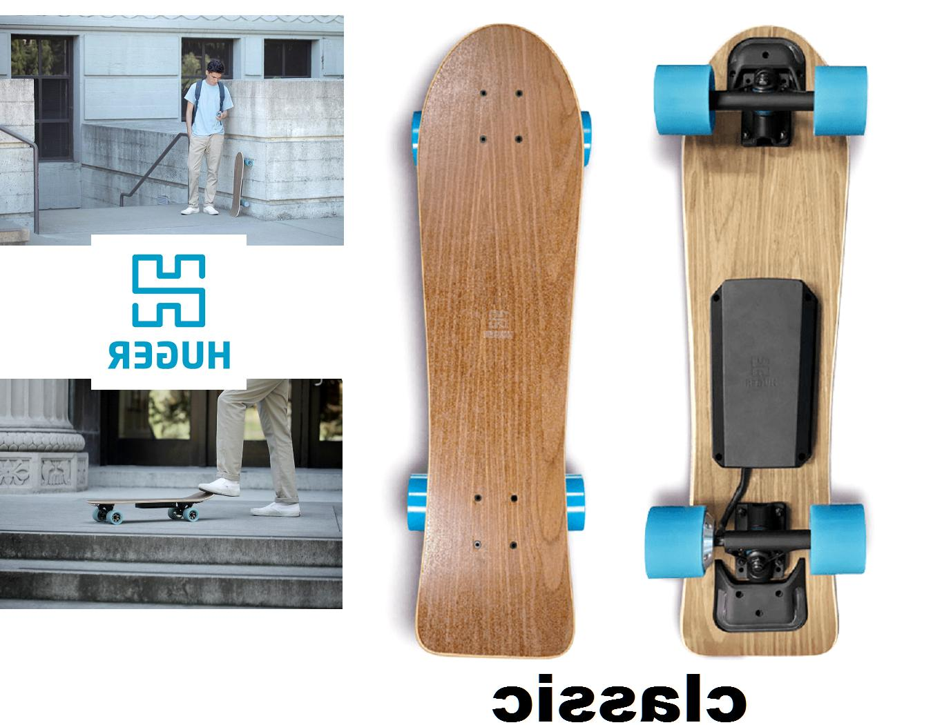 Huger Tech Longboard Bluetooth Electric &