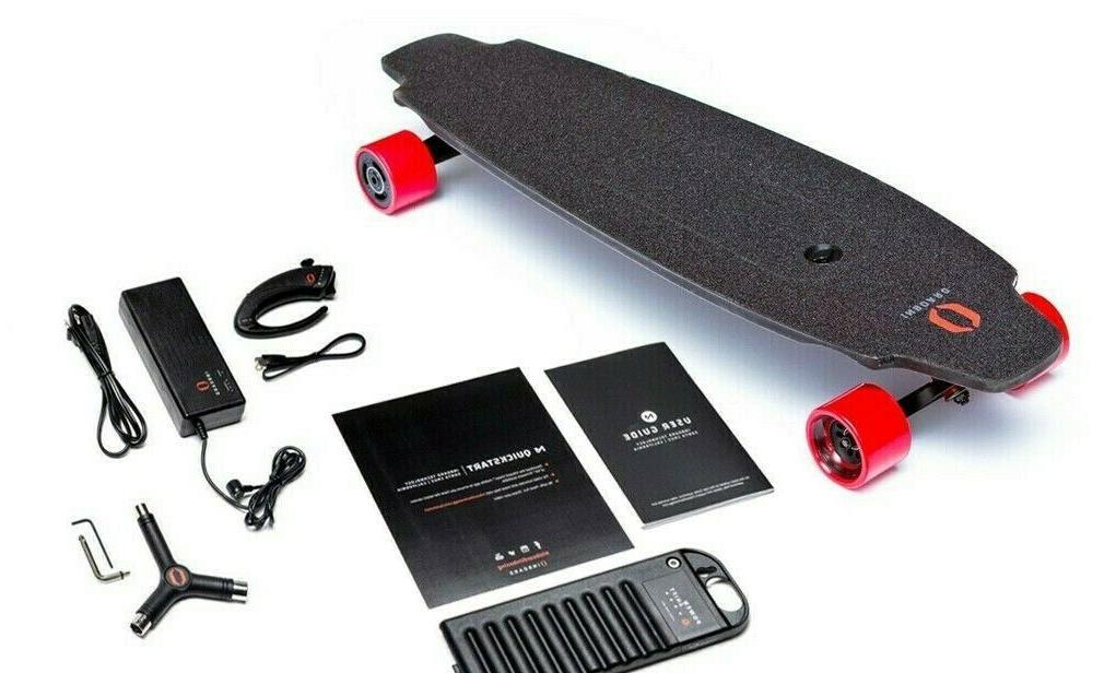 Inboard M1 Electric Skateboard Longboard w/ RFLX Remote, Pow