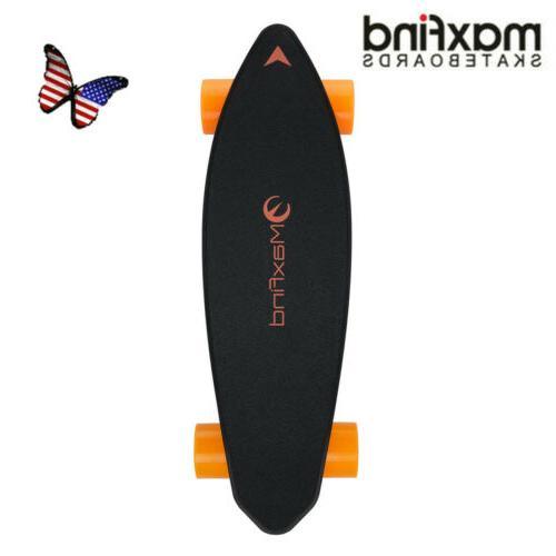 max 2 electric skateboard dual drive wireless