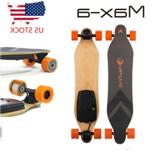 max a electric skateboard single motoriz board
