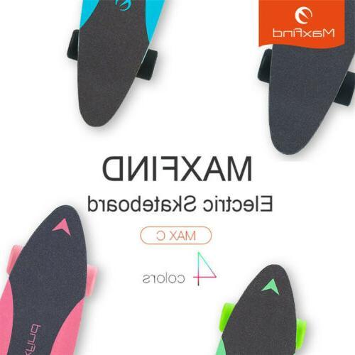 Maxfind Skateboard 4 Wheel Portable