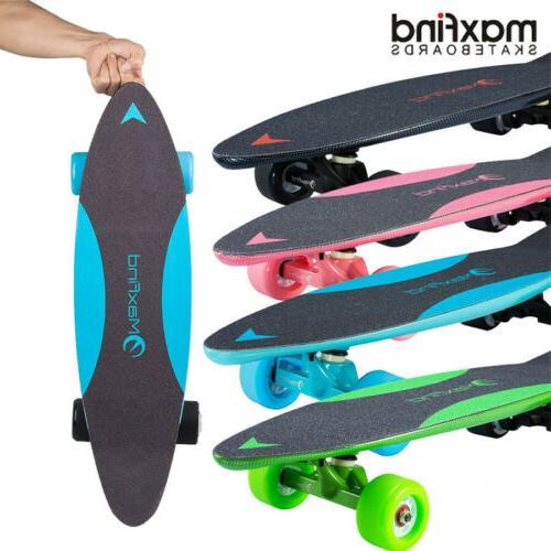 max c 27 electric skateboard 4 wheel