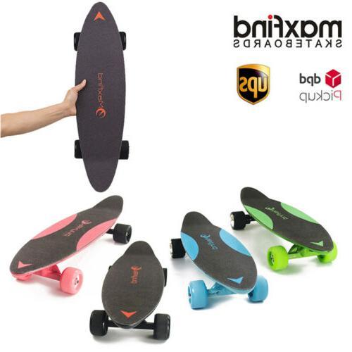 max c 27 electric skateboard longboard wireless