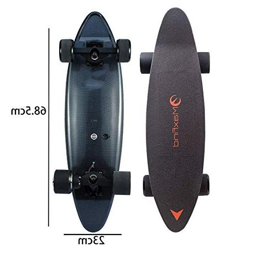 single motor waterproof electric skateboard