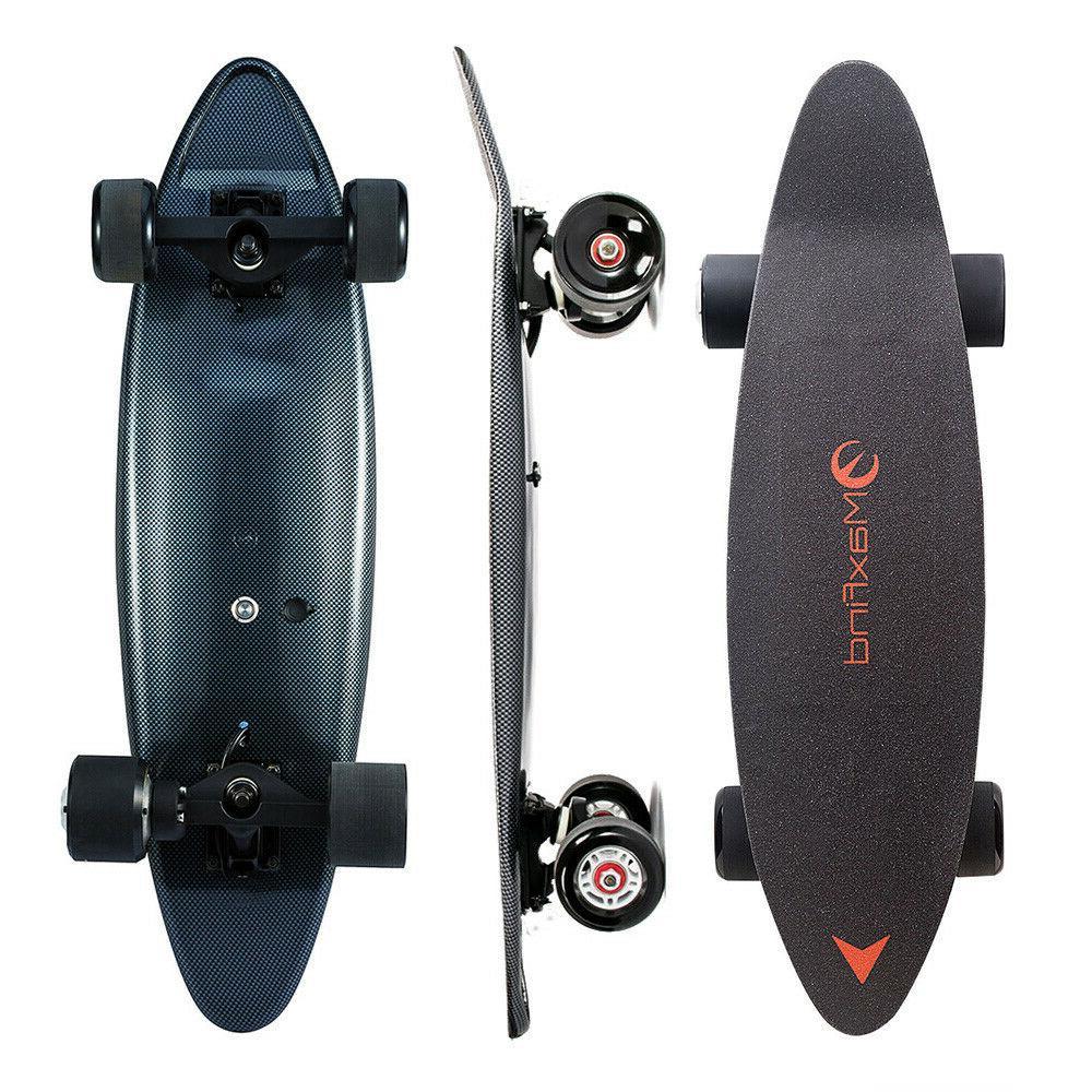max c electric skateboard 27 inch single