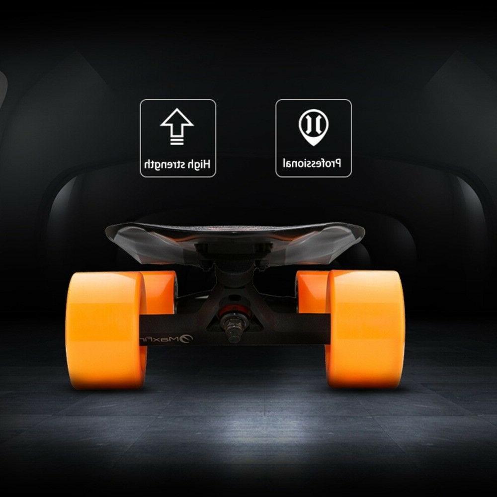 MaxFind Max2 Electric Dual Wireless Remote Motorized Longboard