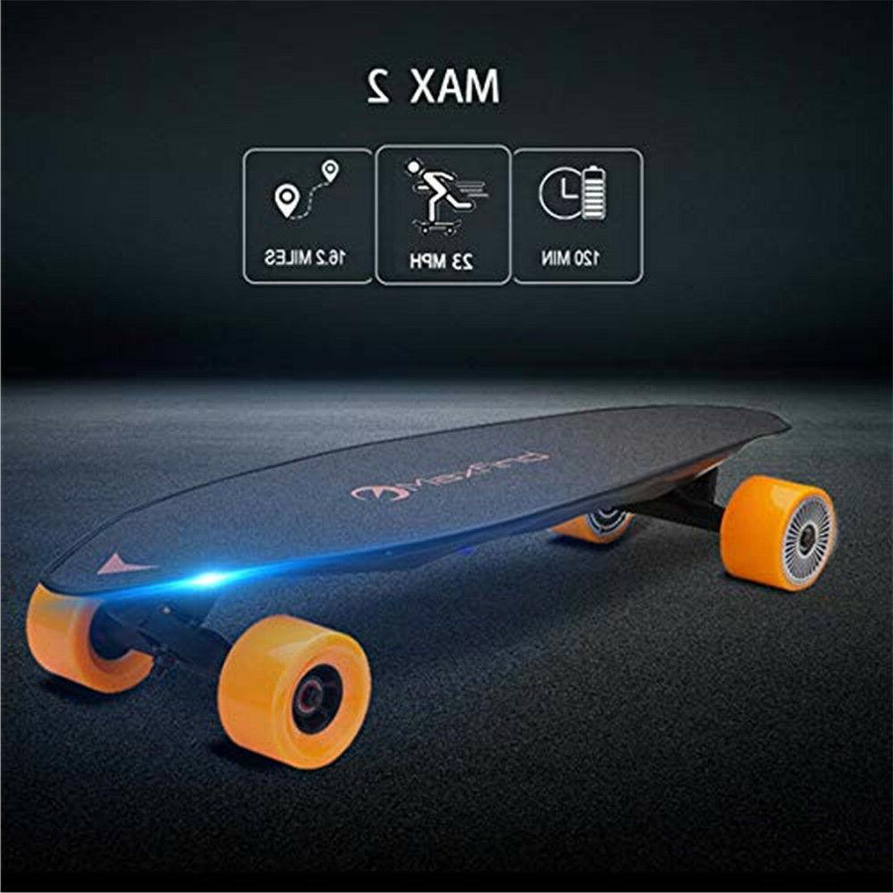 MaxFind Skateboard Dual Motor Motorized