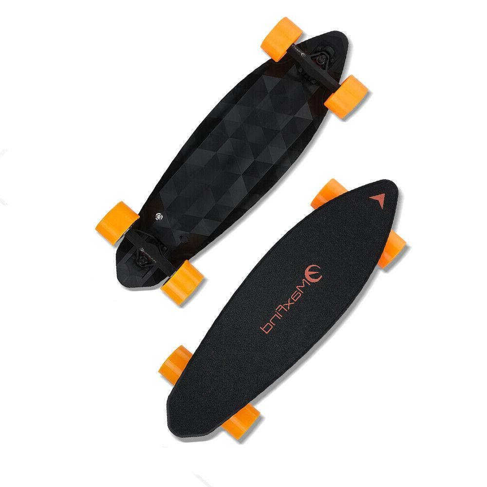 max2 electric skateboard dual motor wireless remote