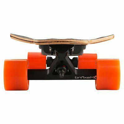 Maxfind Wheels Skateboard Longboard with Remote